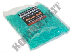 1000 x 6mm x 12g Clear Green Polished Airsoft BB Gun Pellets